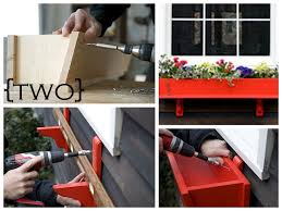 Wood Planter Box Plans Free by Ten Diy Window Box Planter Ideas With Free Building Plans
