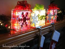 lighted christmas present boxes the bean sprout notes glass christmas light gift boxes 2012