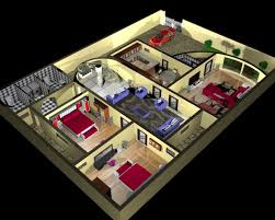 House Plan And Interior Design D D Model Max - Interior design of house plans