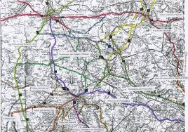 Hampshire England Map by Turnpike Roads In England And Tollhouses