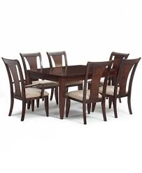 Dining Tables With 4 Chairs Metropolitan Contemporary 7 Piece Dining Set Dining Table 4 Side