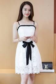 dress pesta dress pesta putih import terbaru 2017 myrosefashion