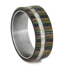 camo mens wedding bands camo ring mens wedding band with dymondwood camo wood ring with