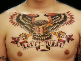 indiana tattoos amazing chest designs