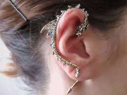 cuff earring bronze ear cuff earring jewelry by stylesbiju