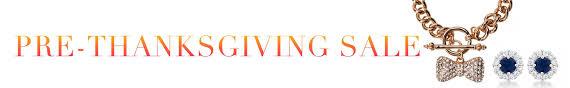 pre thanksgiving sale sales