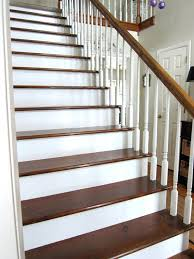 painting wooden stairs home design ideas and pictures