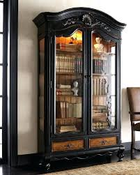 Bookcase With Glass Doors Bookshelf With Glass Doors Bookcases With Glass Doors White