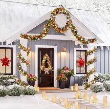 Christmas Decorations Outdoor Home Depot by How To Make A Christmas Tree Wreath Easy Diy Christmas