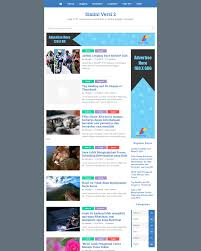 simini v2 mobile friendly fastest and seo friendly blogger