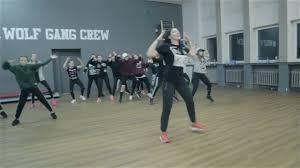 chris brown kriss ela osiejewska choreography wolf