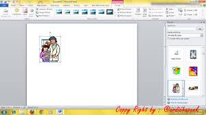 word 2013 clipart cara memasukkan clipart pada ms word belajar tentang multimedia