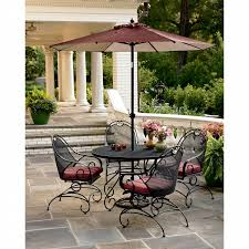 Green Wrought Iron Patio Furniture by Mason Green Stanton 5 Pc Wrought Iron Dining Set Shop Your Way