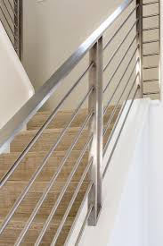 Contemporary Railings For Stairs by Interior Railings Gallery Compass Iron Works