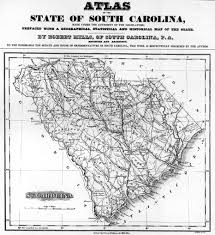 North Carolina Counties Map Sc Historical County Lines