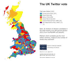 Uk Election Map by Ge2015 On Social Media U2014 Oxford Internet Institute
