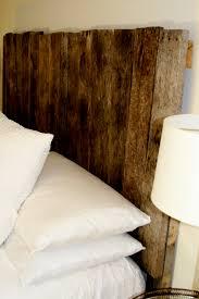 bedroom diy nature wood king headboard design inspiration in