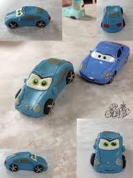 cars sally cars marzipan figurine sally by gwendelyn on deviantart