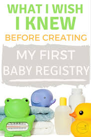baby registery baby registry 101 free products other perks to about