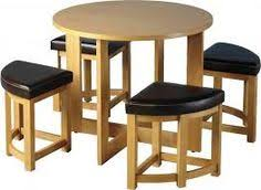 round table with chairs that fit underneath home of style round bamboo tray dining living room pinterest