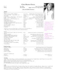 musical theatre resume template creative acting resume template with picture pleasant musical