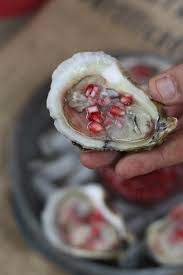 mignonette cuisine oysters with pomegranate mignonette food and recipes