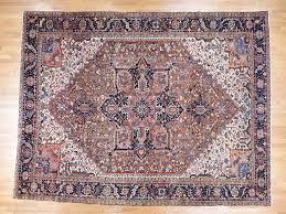 12 u00277 u0027 u0027x16 u0027 oversize antique persian heriz hand knotted vintage