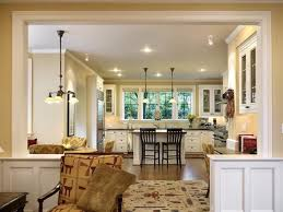 Open Floor Plan Kitchen Dining Living Room Kitchen Excellent Open Plan Kitchen Dining Room Design With Gold