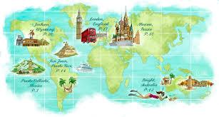 Puerto Rico World Map by Maps U2014 Marilena Perilli Portfolio