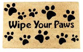 Wipe Your Paws Dog Doormat 25 Best Welcome Mats Images On Pinterest Welcome Mats Funny