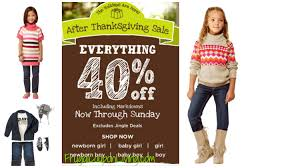 gymboree everything 40 today only