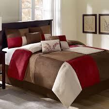 Amazon Com Comforter Bed Set by Comforter Red And Tan Comforter Sets Amazoncom Comforter Sets