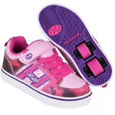 heelys light up shoes heelys x2 bolt with lights pink purple space girls heelys shoes