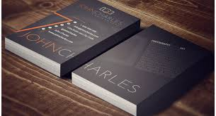 business card design significance the value of high quality