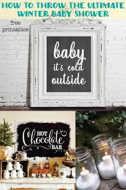 winter baby shower winter christmas baby shower ideas with free printable