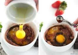 molten chocolate mug cake cleobuttera