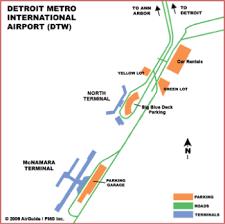 detroit metro airport map airguide airports detroit metropolitan airport