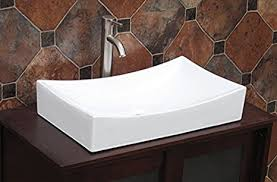 Bathroom Vanity Sink Combo by Bathroom Vanity Rectangular Ceramic Porcelain Vessel 7235n3 Sink
