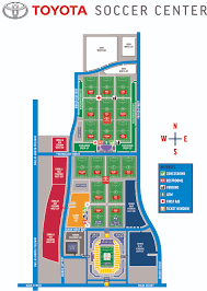 Toyota Map Update Usa by Toyota Soccer Center Fc Dallas