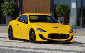 gold maserati granturismo novitec pumps up the maserati granturismo mc stradale