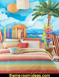Surfing Bedding Sets Theme Bedroom Surfing Bedroom Decorating Ideas