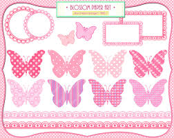 baby butterflies pink baby shower printables