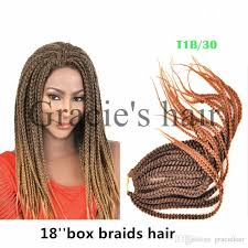 pretwisted crochet braids hair 20roots pack pretwist 3s crochet box braids hair extensions 18