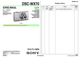 sony dsc wx7 service manual free download