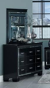 homelegance allura dresser black 1916bk 5 at homelement com homelegance allura dresser black