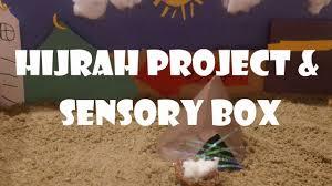 diy islamic sand box hijrah crafts new islamic year kids