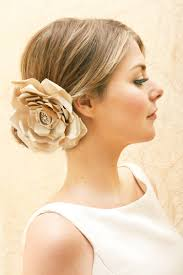 flower hair accessories veils hair accessories by suzy orourke beige hair flower