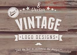 design company logo free uk 8 free customizable vector vintage style logo designs