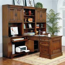 Compact Computer Desk With Hutch by 34 Inch Credenza Computer Desk And Door Hutch By Aspenhome Wolf
