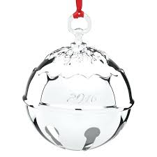 merry bell for towle silver bell ornament